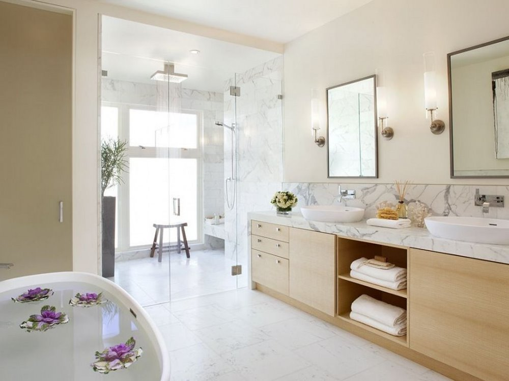 Luxury Bathroom Ceramic White Color