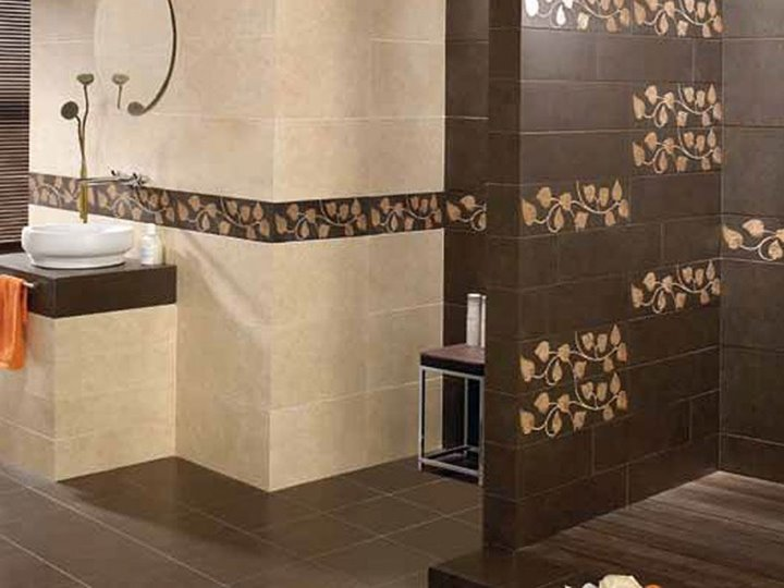 Luxury Beautiful Bathroom Ceramic Pattern
