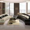 Luxury Black And White Sofa Color