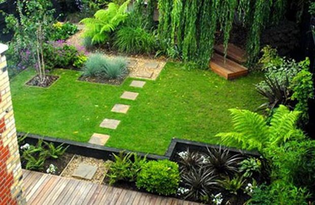 Luxury Garden Landscape For Modern House