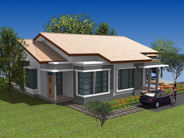 Minimalist Home Model For Small Land