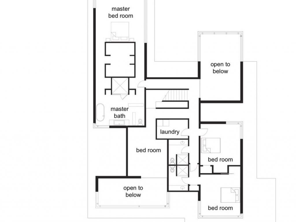 Minimalist Home Plan For Small Land Area