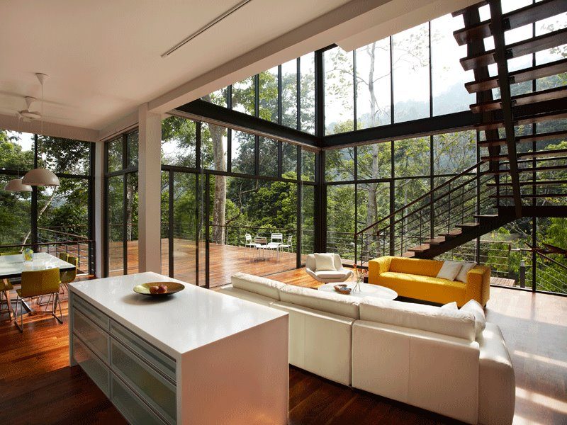 Minimalist Tropical Home Interior Design 4 Home Ideas