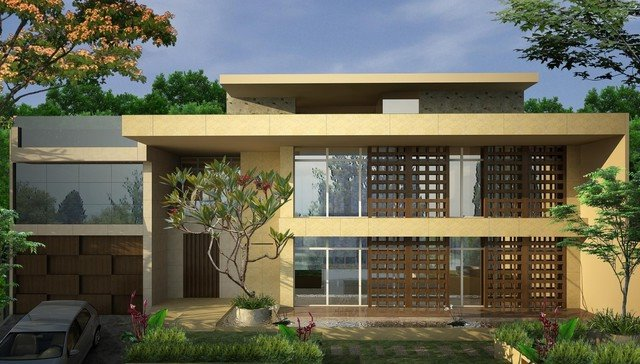 Minimalist Tropical Home Photo Gallery