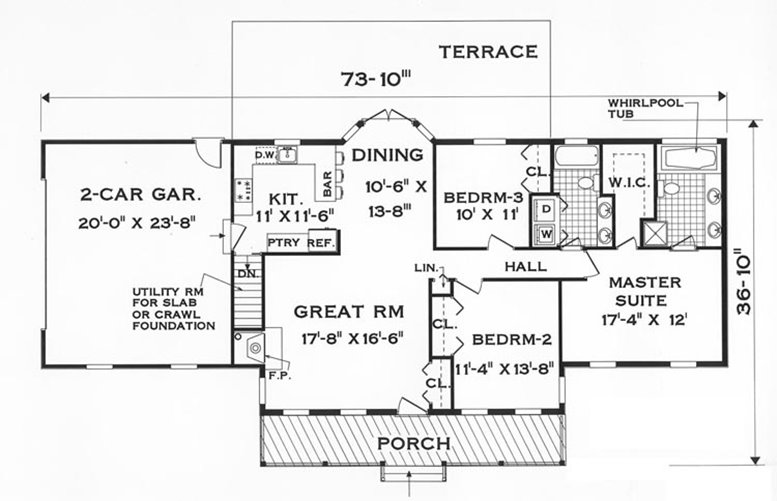 1 Storey Minimalist Home Plans For Narrow Land 4 Home Ideas