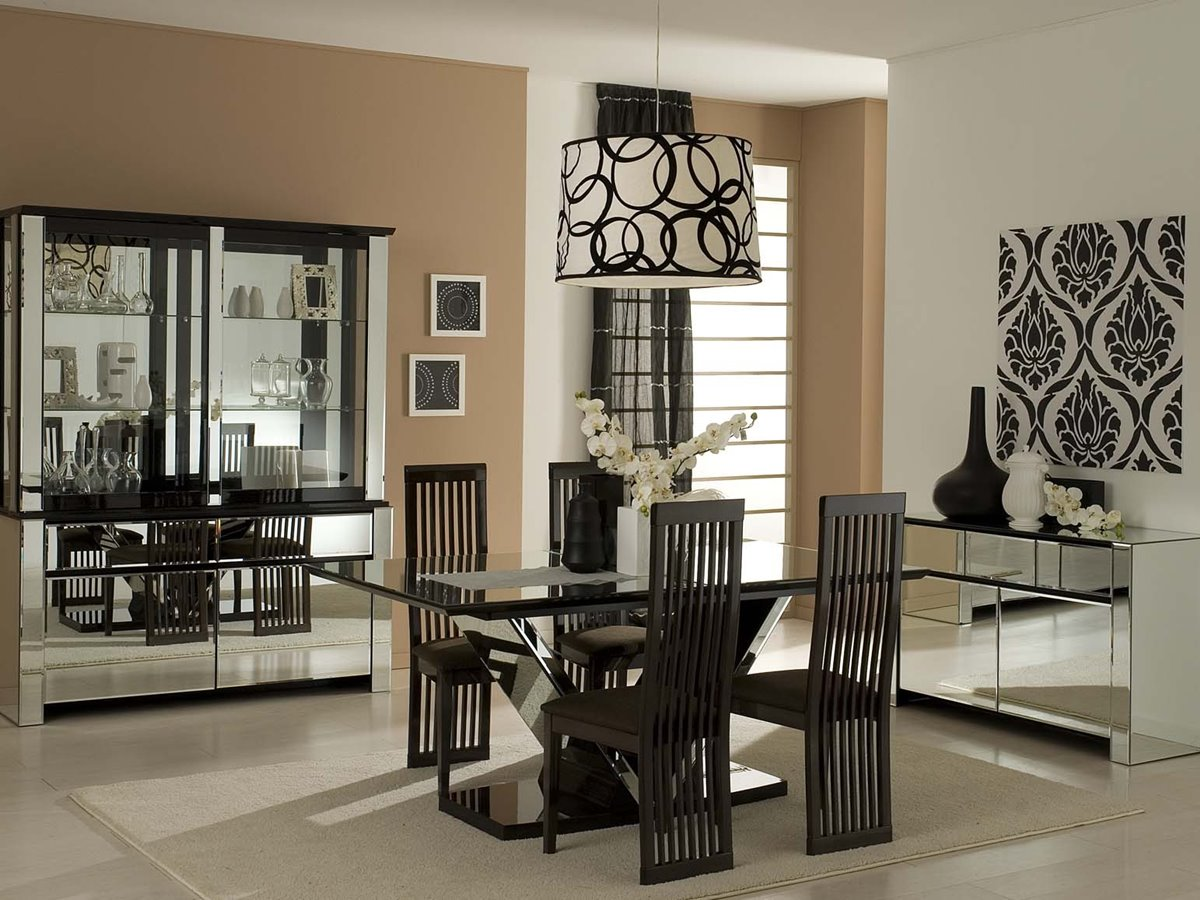 Modern Furnitrue Decor For Dining Room