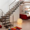 Modern House Stairs Design Color