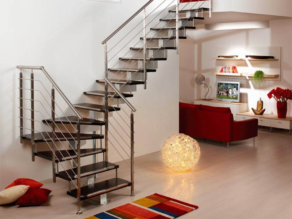 Modern minimalist home staircase design types 4 home ideas for Minimalist house type 36
