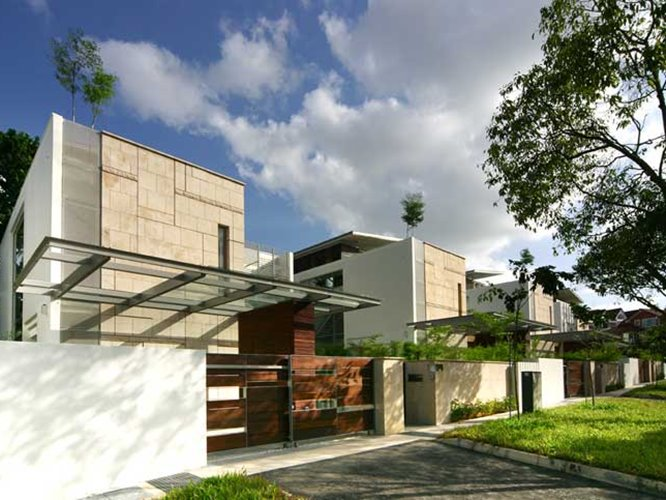 Modern Minimalist Tropical Home Design