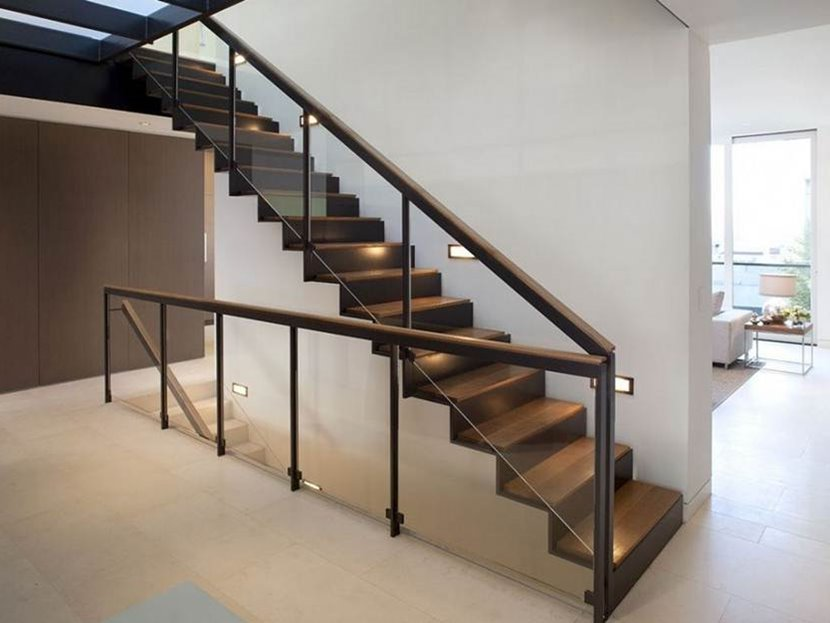 Modern minimalist home staircase design types 4 home ideas Steps design for home