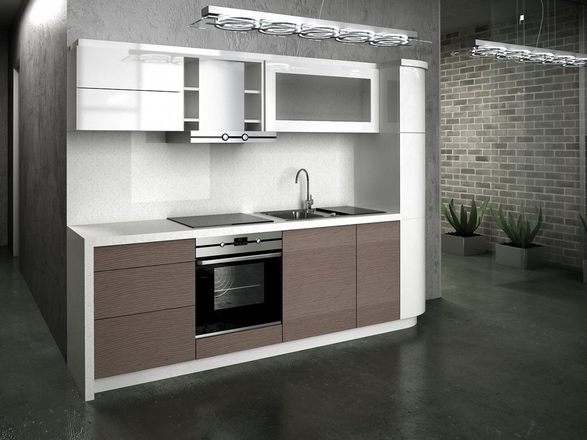 Tips for small modern kitchen organization 4 home ideas for Small contemporary kitchen