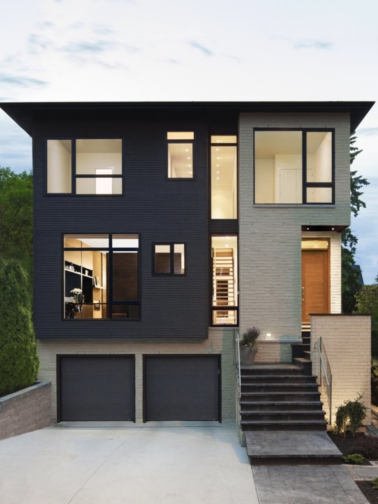 Paint Color Combination For 2 Story House