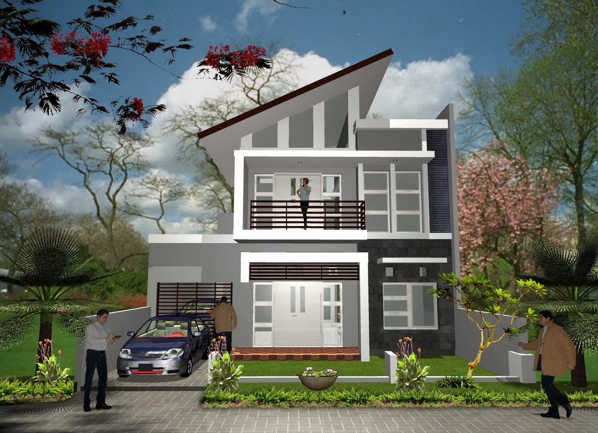 Paint Color For 2 Storey Luxury Home