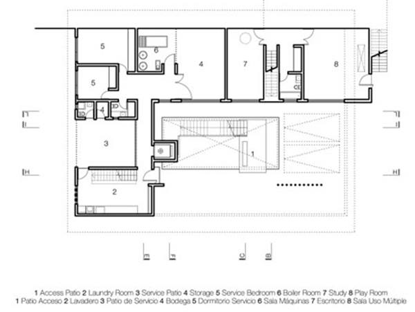 Create minimalist house plan in narrow land 4 home ideas for Minimalist narrow house plans