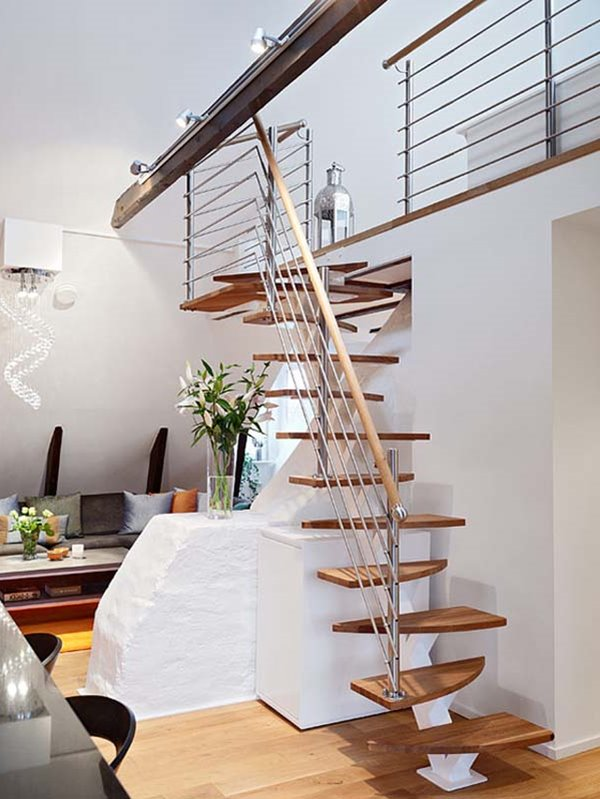 Simple Small Staircase Design Idea - 40+ Staircase Design For Small House Background