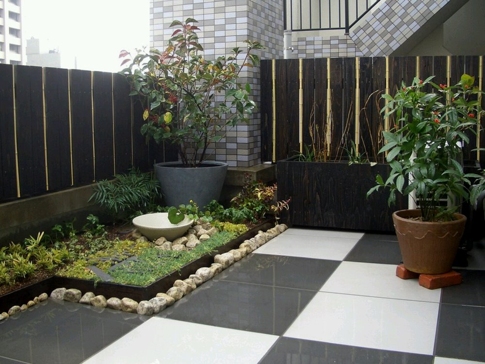 Image result for minimalist backyard design