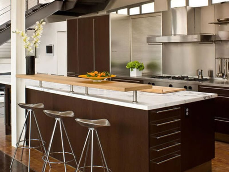 Small Modular Kitchen Decorating Idea
