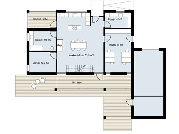 Create Minimalist House Plan In Narrow Land