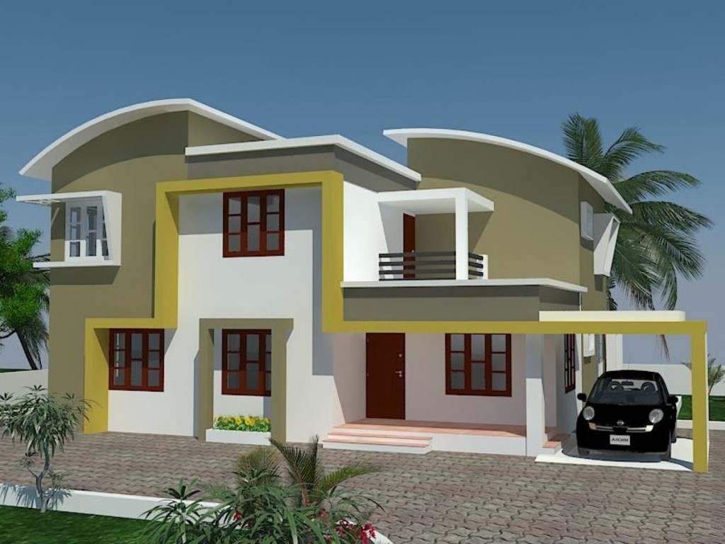 Tropical Minimalist Home Design Model
