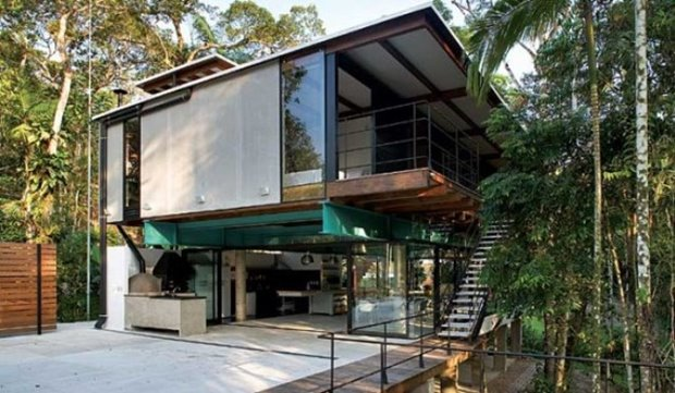 Luxury Tropical Home Design Model Home Ideas