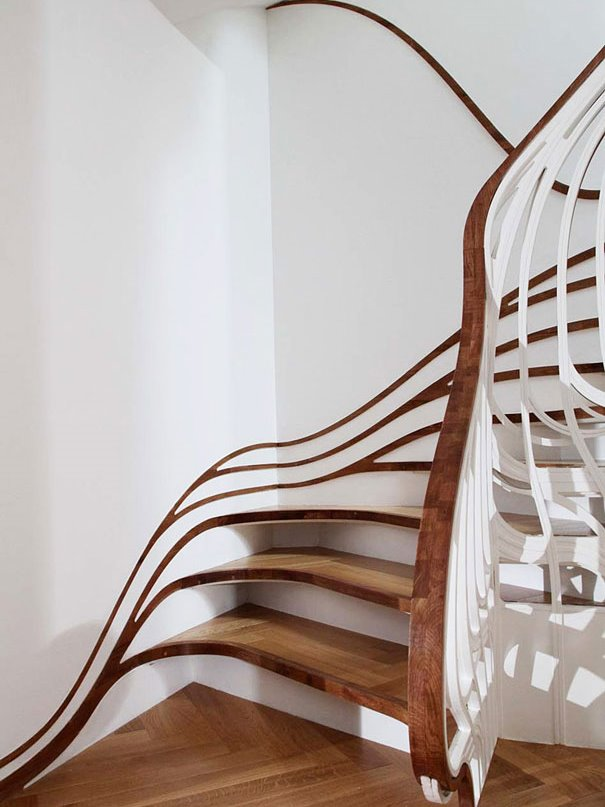 Unique Staircase Design For Minimalist House