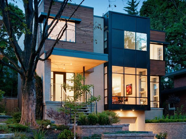 Urban Home Exterior Design Trends 2015