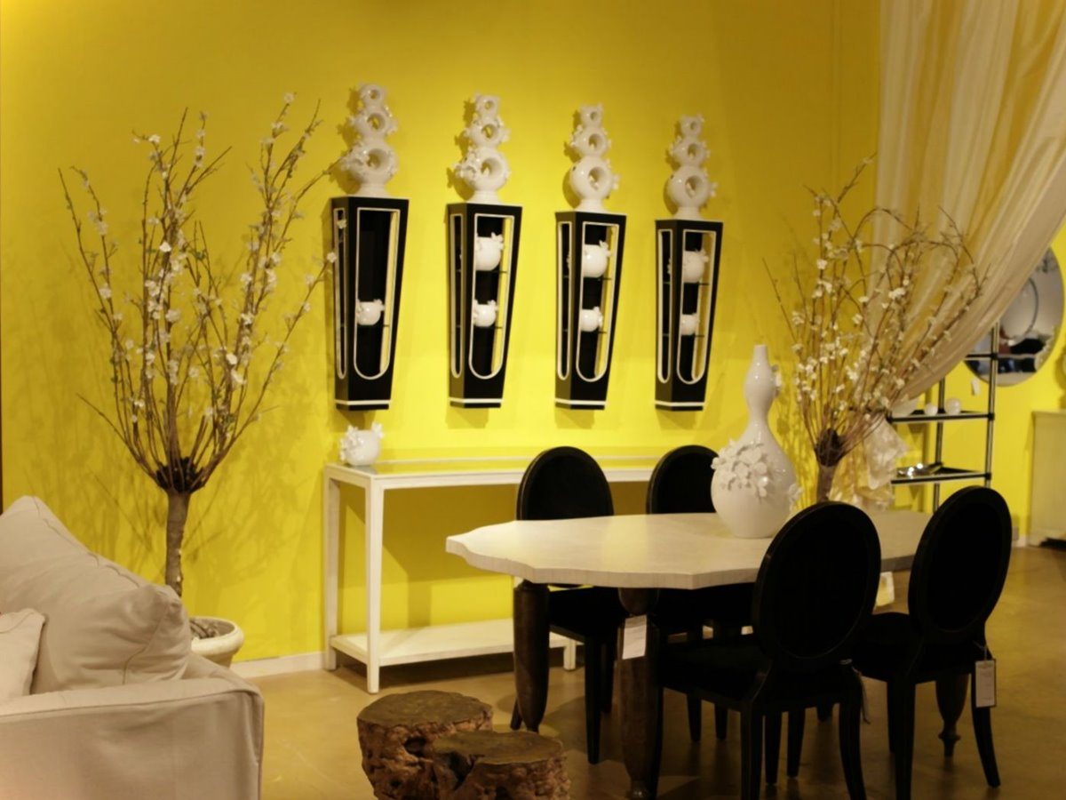 Yellow Wall Paint For Dining Room