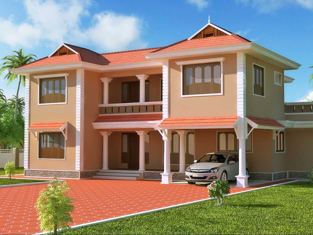 2 Storey House With Simple Minimalist Design