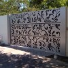 Artistic And Elegant Home Fence Design