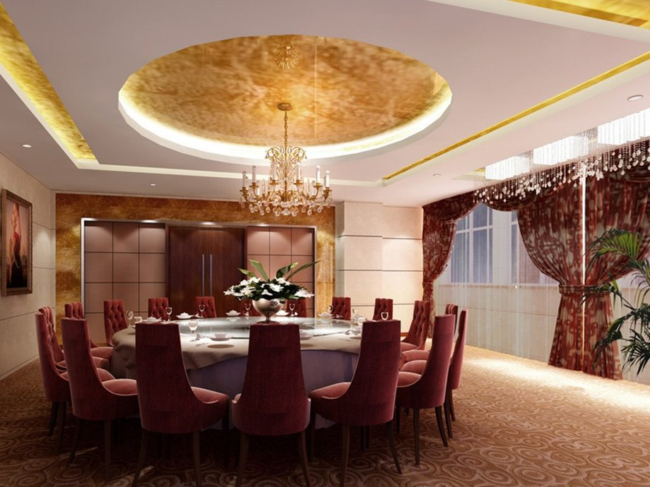 Various ceiling materials to create luxury modern home 4 for Beautiful ceilings and interiors