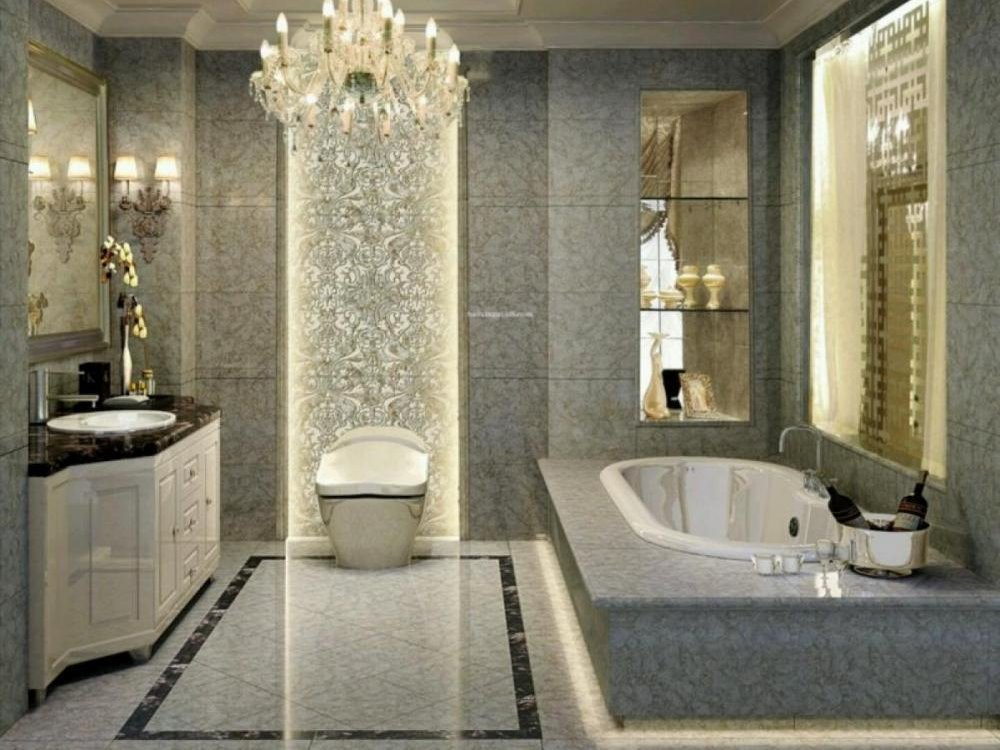 Beautiful Ceramic Pattern For Luxury Bathroom