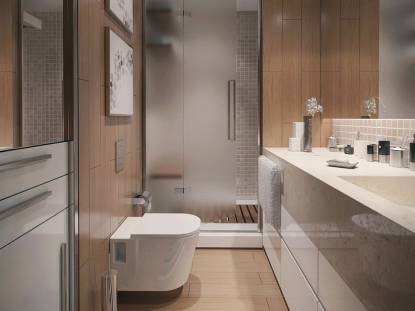 Beautiful Contemporary Bathroom Interior Design