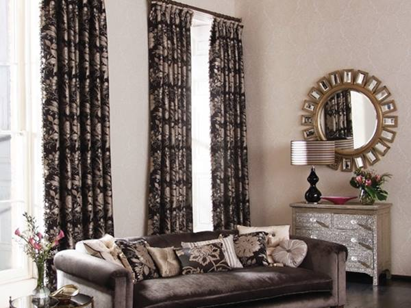 Beautiful Curtains Design For Luxury Living Room