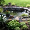 Beautiful Garden Design With Small Pond