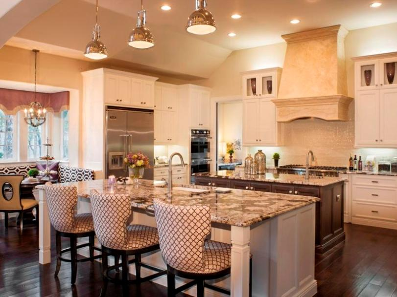Beautiful Modern Kitchen With White Color
