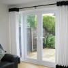 Black And White Beautiful Curtains Design