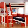 Boys Bedroom Design With Bright Color