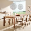 Charming Wooden Dining Table Model