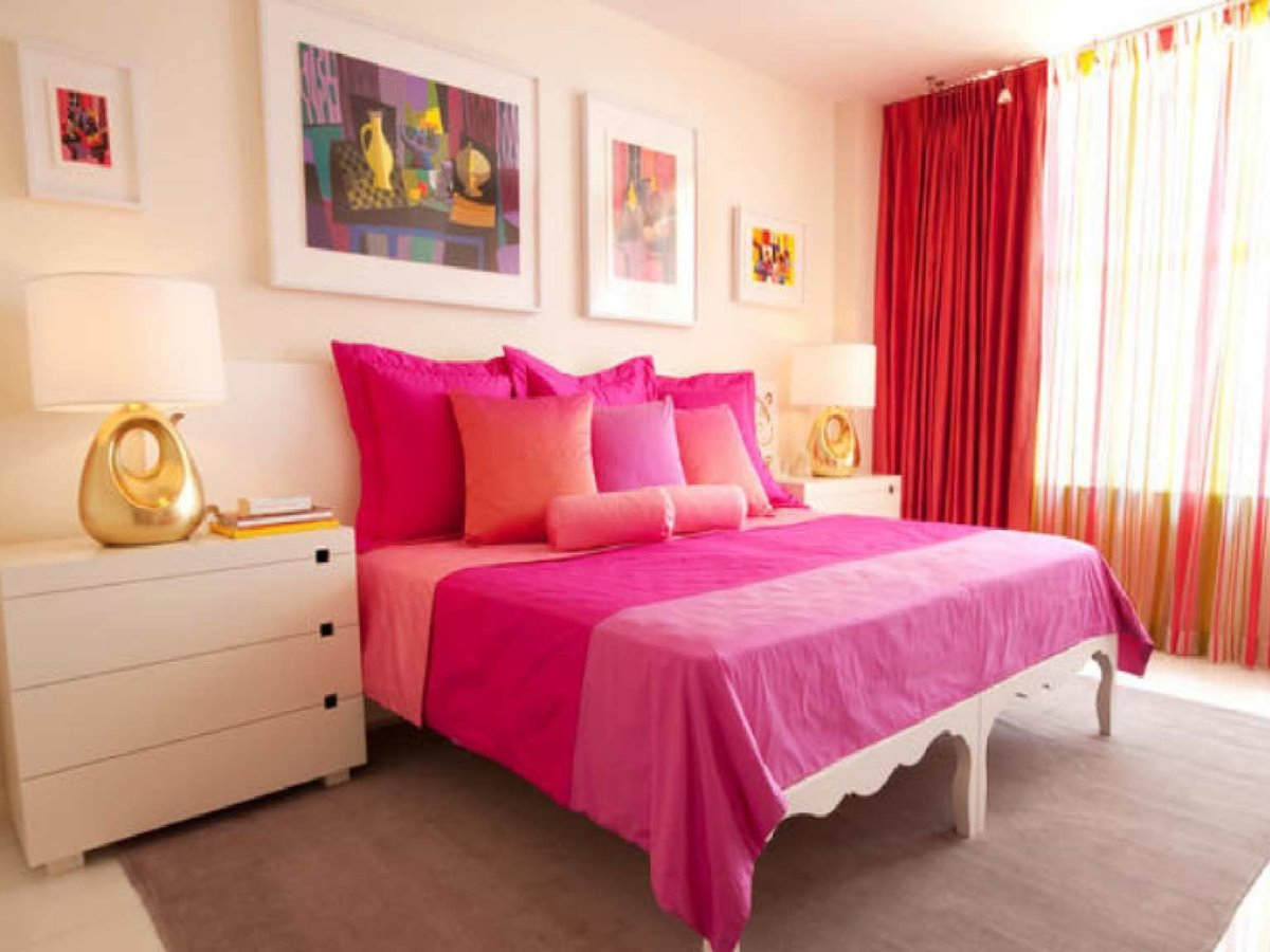 Cheerful Bedroom Decor For Girls