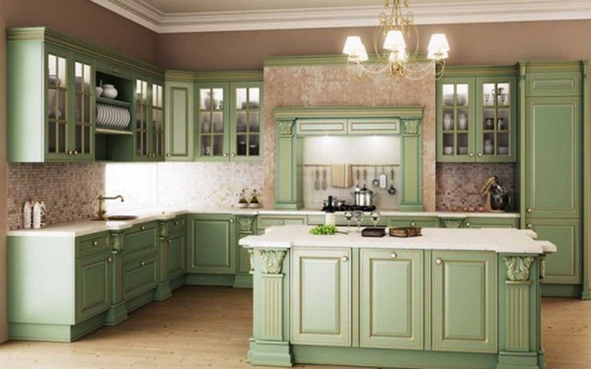 Classic Furniture For Beautiful Modern Kitchen