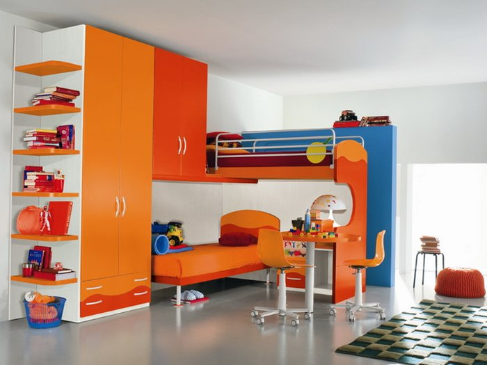 Colorful Decorating Ideas For Boys Bedroom