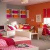 Colorful Girly Bedroom Decorating Idea
