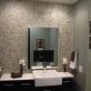 Contemporary Small Bathroom Decorating Idea