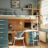 Desk And Bed Combination For Child
