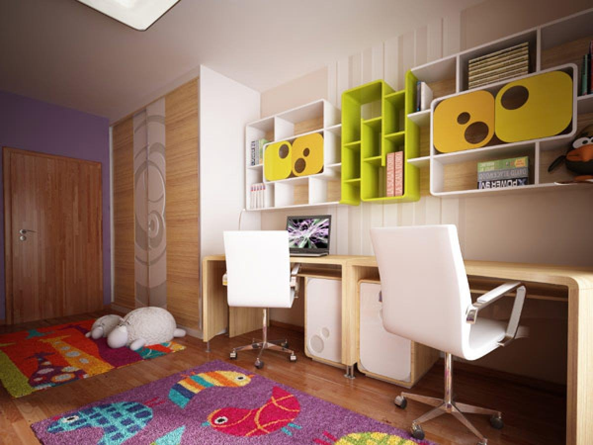 Desk Design For Kids Bedroom