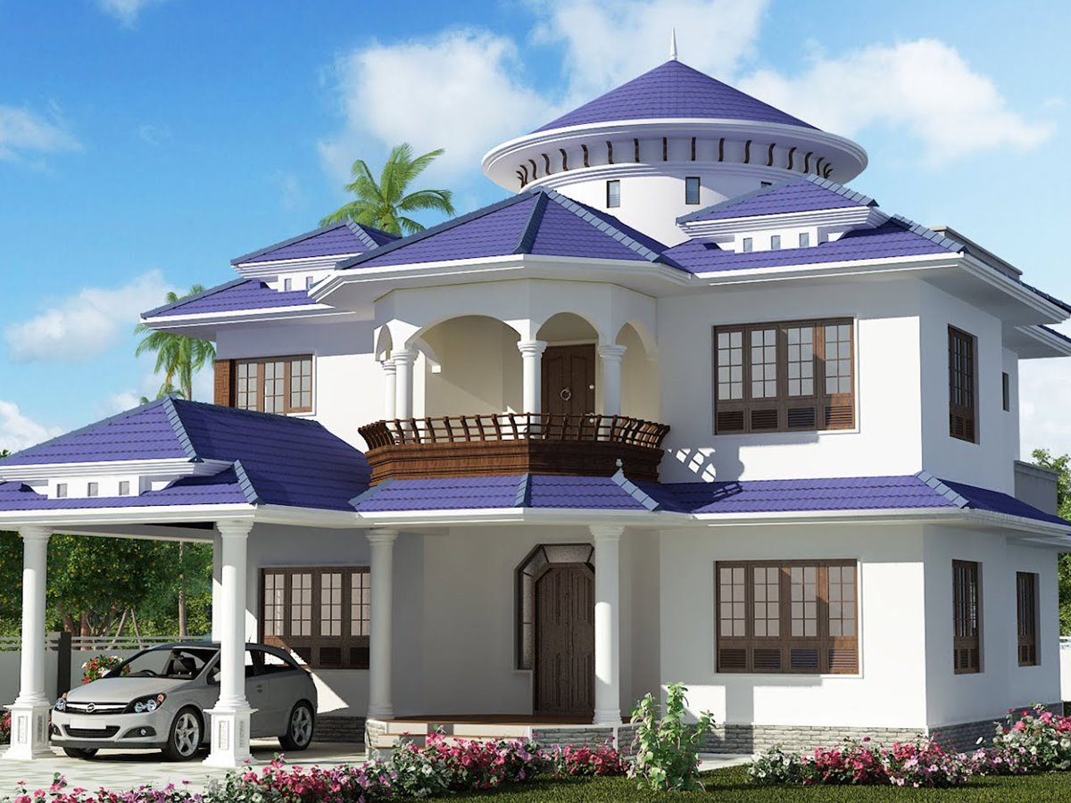 Simple modern dream house modern house for Create your dream house