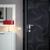 Elegant Minimalist Door With Black Color