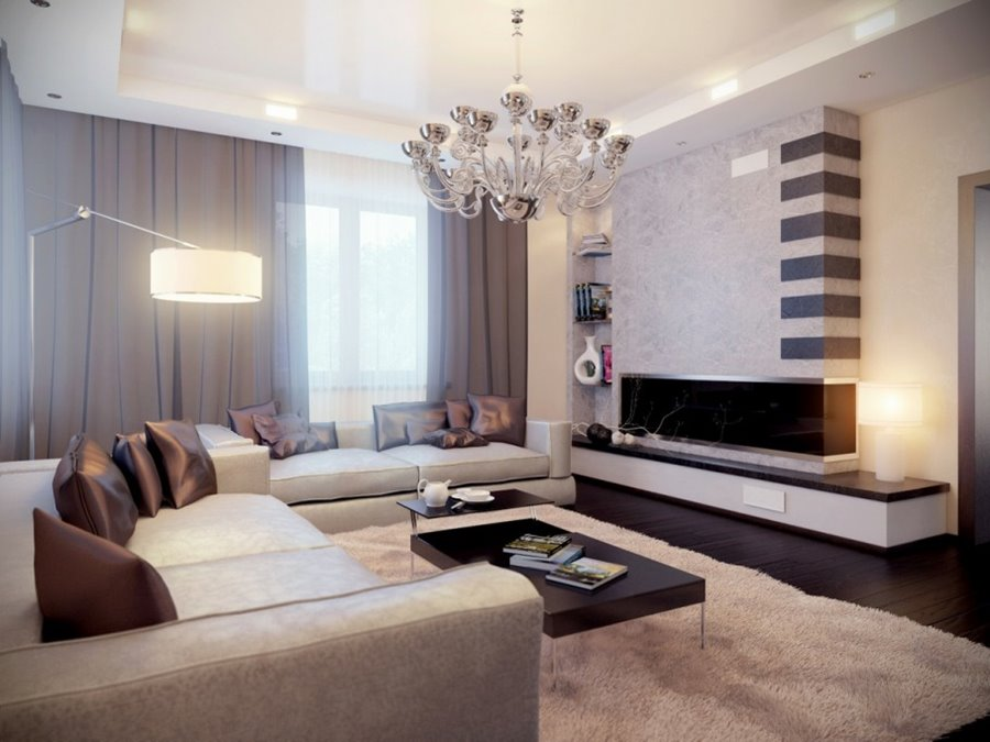 Elegant Modern Living Room Color Scheme