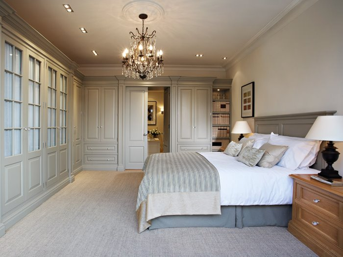 Elegant Wardrobe Design For Master Bedroom