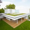 Flat Roof Design For Modern Home